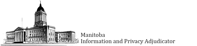 Manitoba Information and Privacy Adjudicator